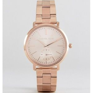 Michael Kors rose gold analog classic jaryn watch